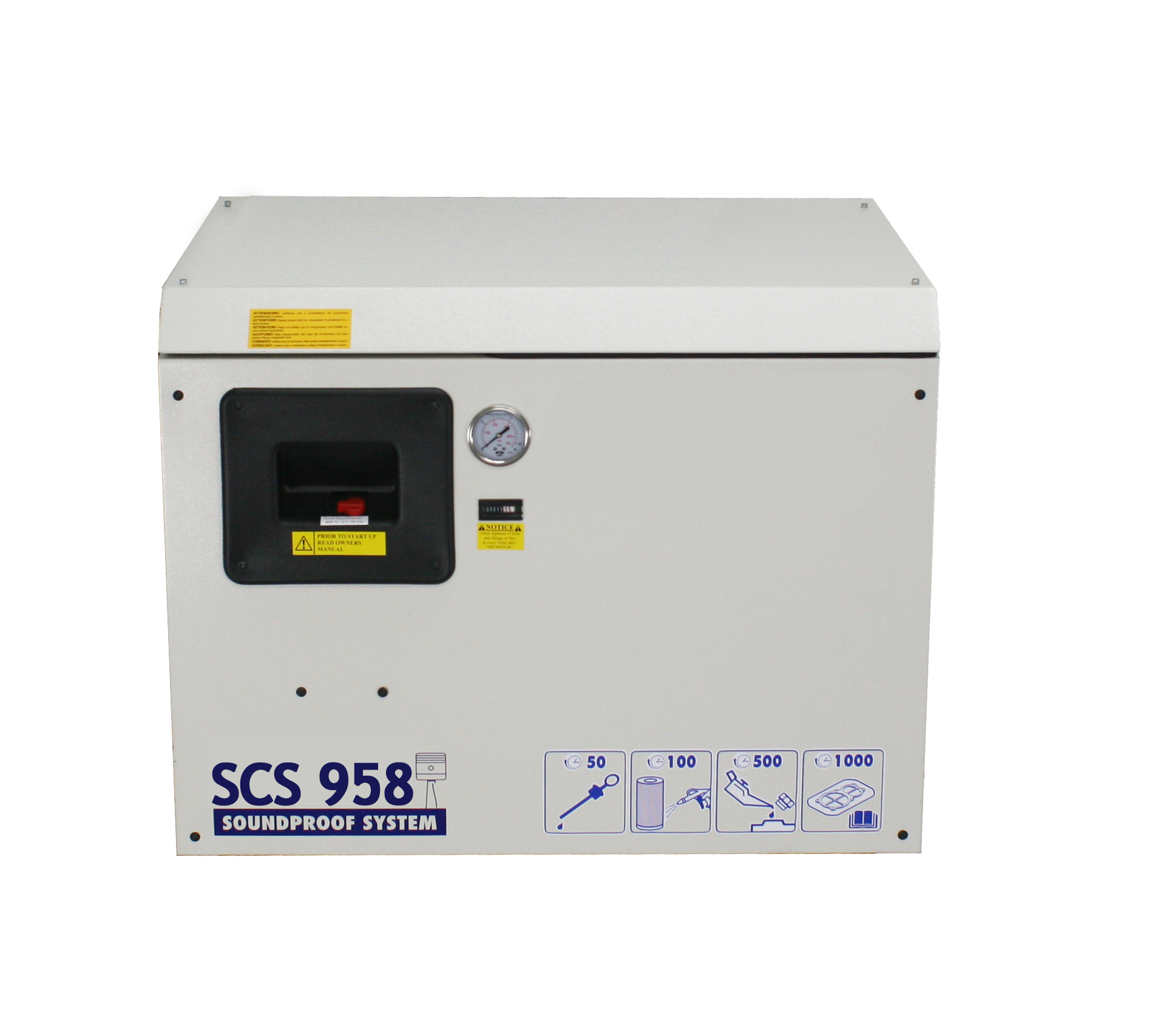 Silent Reciprocating Air Compressors