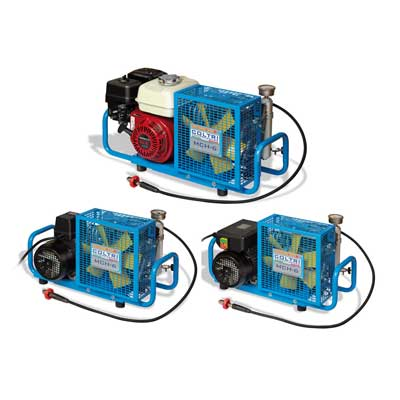 MCH6 Portable High Pressure Cylinder Fill Compressor