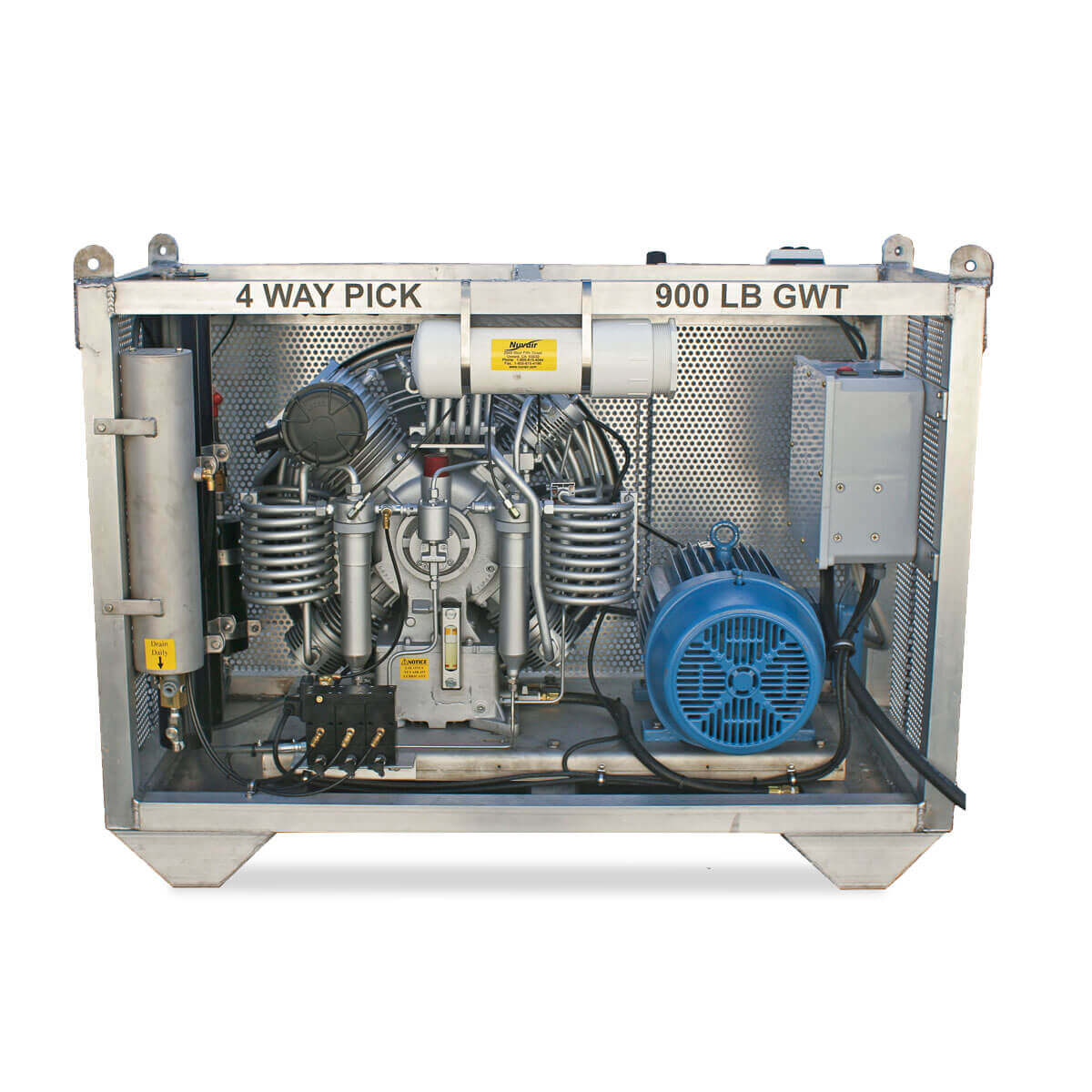 MCH22 / MCH30 / MCH36 Electric Open Horizontal Compressor