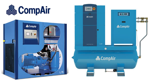 CompAir Fixed Speed Lubricated Rotary Screw Compressors