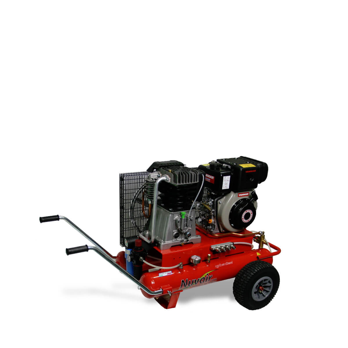 Nomad Two-Stage Surface Supplied Diesel Powered Dive Compressor