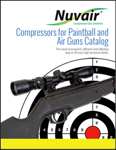 Nuvair Compressors for Paintball and Air Guns Catalog