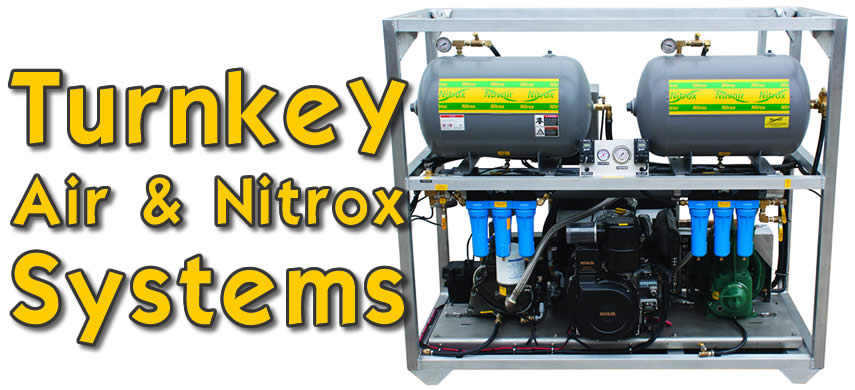 Turnkey Air/Nitrox Systems