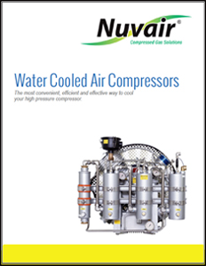 Nuvair Water Cooled Air Compressor Catalog