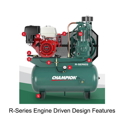 R-Series Engine Driven Design Features
